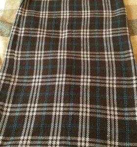 Длинная Юбка из пальтовой ткани.