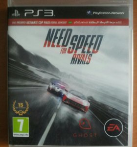 NFS Rivals. Battlefield PS3