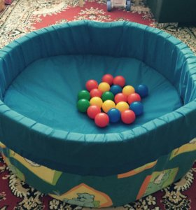 Сухой бассейн для детей