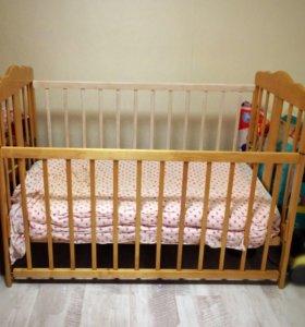 Кроватка в хор.сост