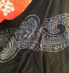 Палантин и шарфик Чёрные