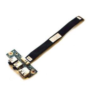 Плата USB/Audio разъёмов для ноутбука ASUS К53T