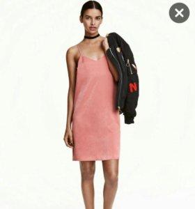 Платье в бельевом стиле HM