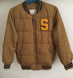 Куртка бомбер Zara весна- осень 6-7 лет 122 см
