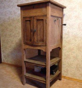 Старинный Граммофон напольный, патефон
