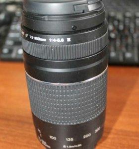 Обьектив Canon ef 75-300mm f/4-5.6iii