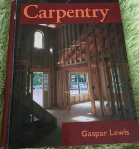 Книга Carpentry Gaspar Lewis Гаспар Льюис