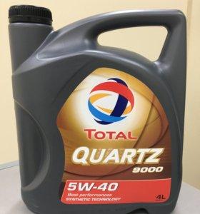 Масло моторное TOTAL QUARTZ 9000 5W40 4л.