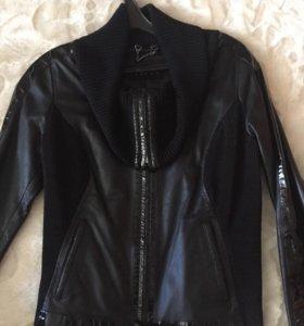 Куртка кожаная Agnus