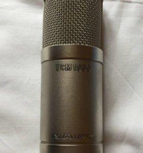 Микрофон Nady TCM 1050, студийный, ламповый