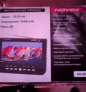 НОВЫЙ! Автомобильный телевизор NOVEX ACL-803