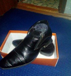 Зимние туфли