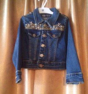 Курточка джинсовая для девочки