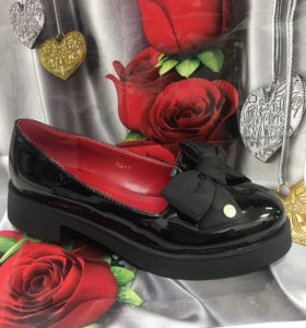 Лоферы тапочки балетки ботиночки