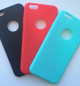 Чехлы силиконовые на IPhone 6 новые