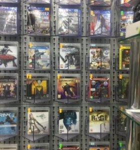 Игры PS3, PS4, x360