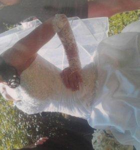 Платье свадебное с фотой