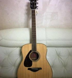Акустическая гитара YamahaFG720S редкая леворукая