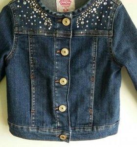 Новая джинсовая куртка GJ