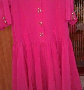 Винтажное платье р.42-44