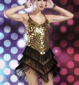 Платье танцевальное латино