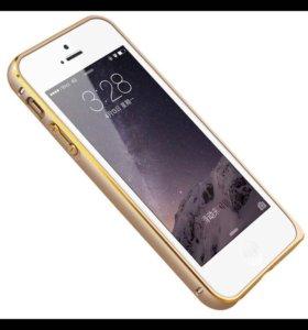 Бампера для iPhone 5,5s