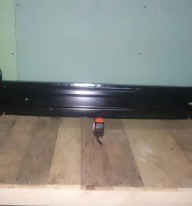 Усилитель переднего бампера киа рио