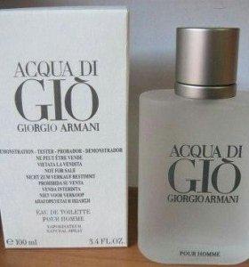 Тестер оригинал Acqua di Gio Giorgio Armani 100 мл