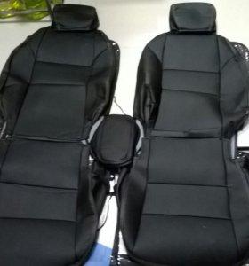 Чехлы для Hyundai Creta экокожа