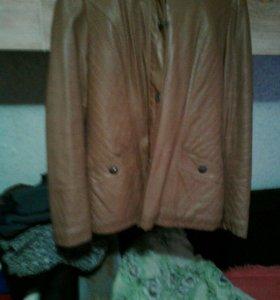 Куртка жен кожзам