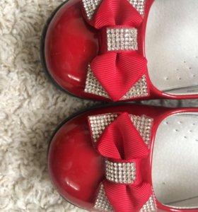 Лакерованные туфельки
