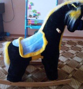 Лошадка кочалка