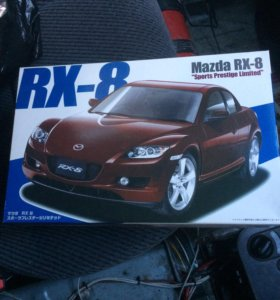 Модель автомобиля Mazda RX-8 Fujimi