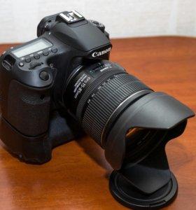 Canon 60D+Canon EF-S 15-85mm+Бат.блок Canon BG-E9