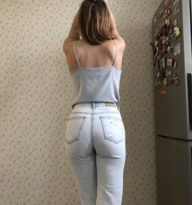 Джинсы high waist