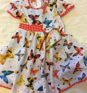 Платье новое, размер 98 см