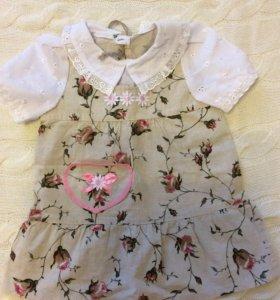 Платье новое, 86 см