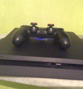 PS4 Slim 500Gb + Fifa17, Battlefield 1