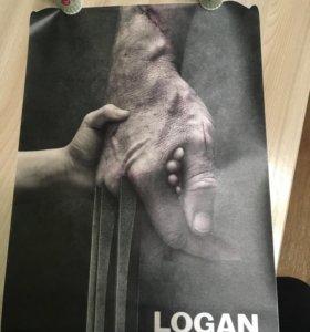 Плакат Logan (Росомаха).