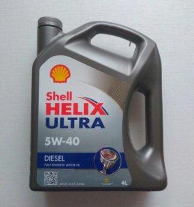 Оригинальное моторное масло Shell Helix Ultra 5W40