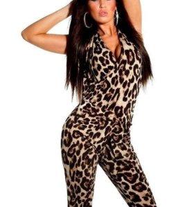 Леопардовый комбинезон🌺