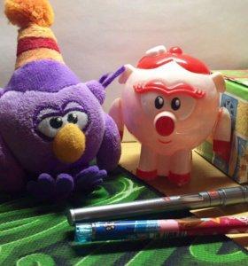 Маленькие игрушки-Смешарики