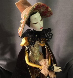 Интерьерная кукла(будуарная кукла)
