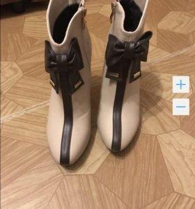Ботинки одевала пару раз