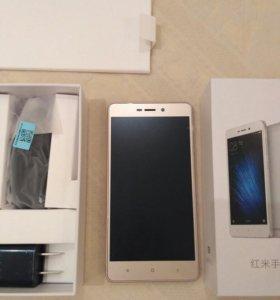 Xiaomi Redmi 3x3x32 GB  ( НОВЫЙ )