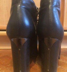 Ботинки, натуральная кожа , размер 38