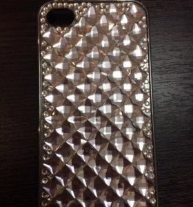 Чехол на iPhone 4/4s, состояние хорошее.