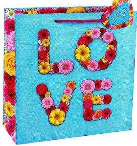 Свадебный подарочный пакет Love