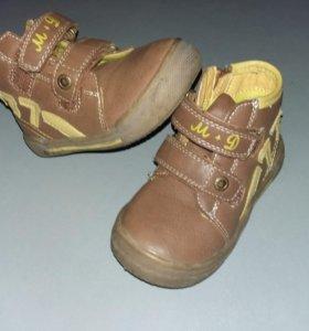 Обувь на мальчика (весна/осень)