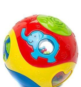 Веселый шар муз игрушка